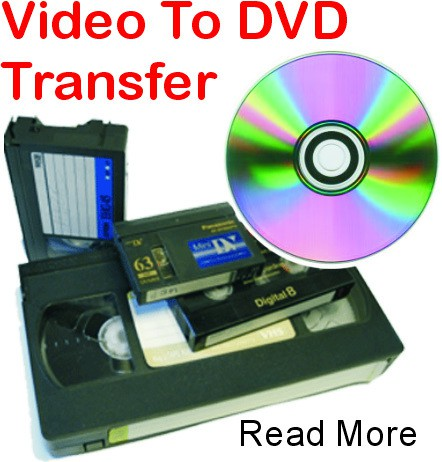 Tapes to DVD Transfer