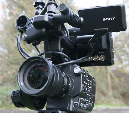 Sony FS5 Atomos Flame Set up
